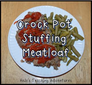 Crock Pot Stuffing Meatloaf - HoJo's Life Adventures
